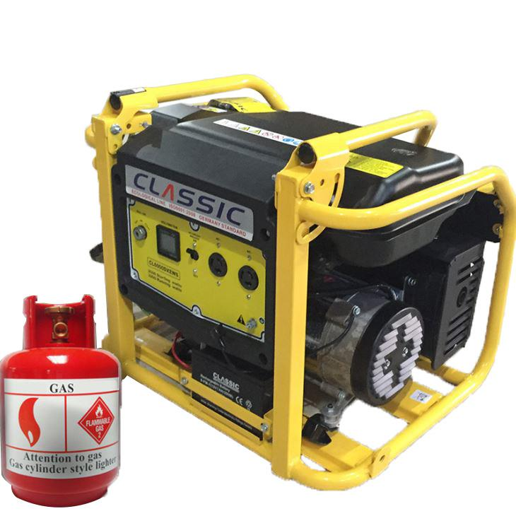 Dual Fuel Portable Gas Generator