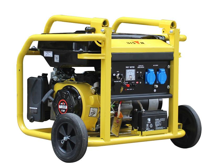 Natural Gas Dual Fuel Generator