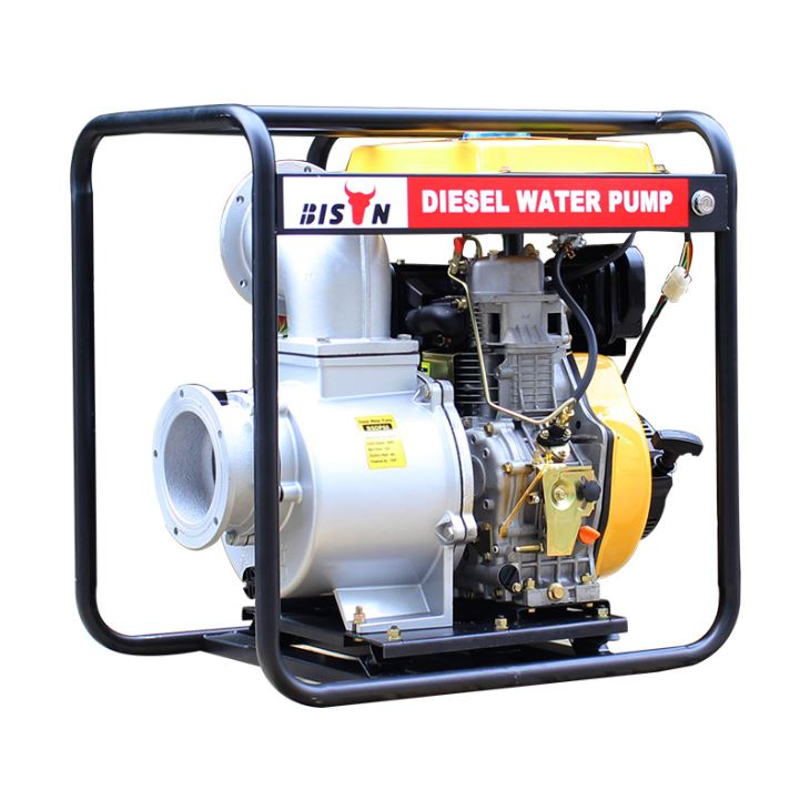 Water Pump with Diesel Engine